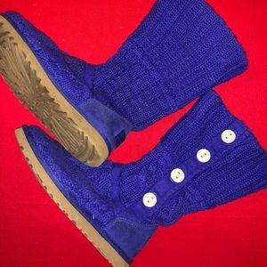 Ugg Boots  Blue Size US 6